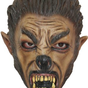 latex child wolf mask