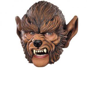 growling chinless mask