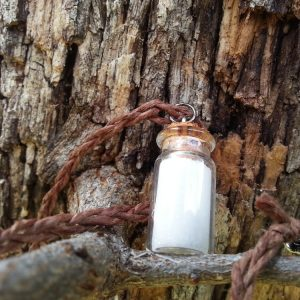 salt protection necklace