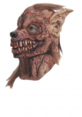 Sutured werewolf latex mask