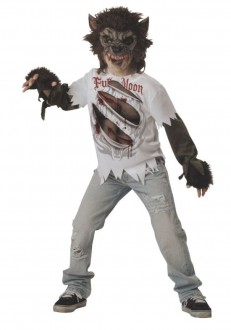 werewolf child size costume