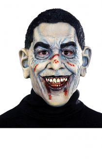 barrack obama insane zombie mask