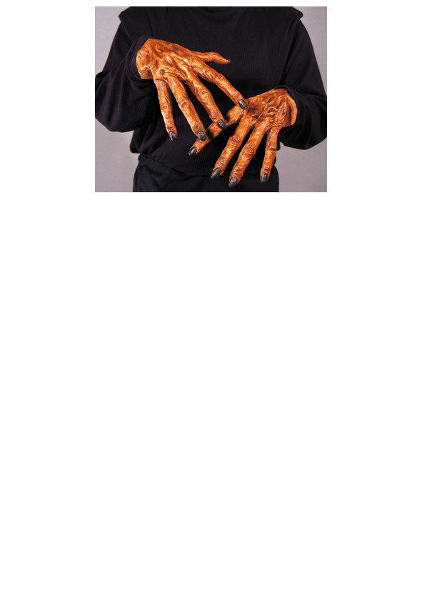 creepy werewolf hands