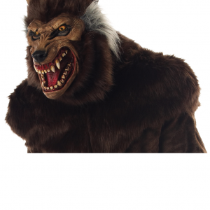 deluxe werewolf mask