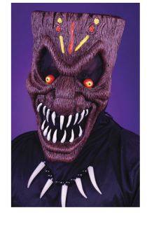 evil tiki mask