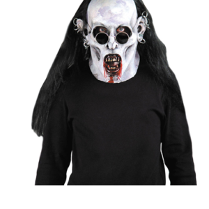 goth vampire mask
